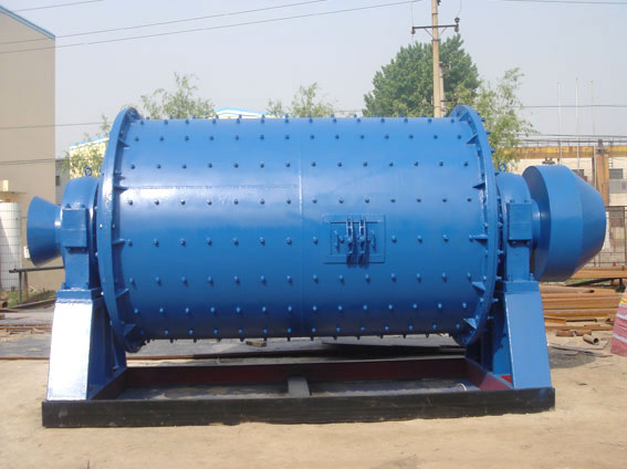Glass ball mill